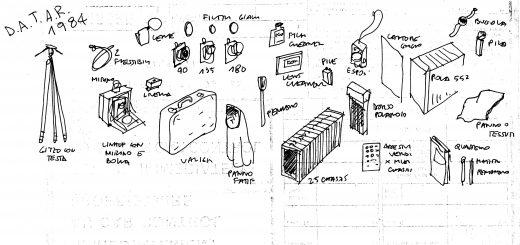 Gabriele Basilico, Dessins, 1984 - archives de l'artiste